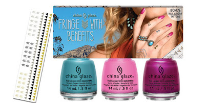 China Glaze Desert Escape - Fringe With Benefits Set