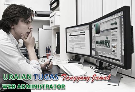 Uraian Tugas Web Administrator
