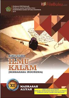 Buku Siswa Ilmu Kalam MA Kelas 12-XII Kurikulum 2013 Revisi 2019