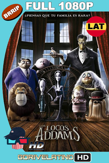 Los Locos Addams (2019) BRRip 1080p Latino-Ingles MKV