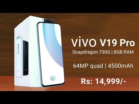 Vivo V19 Pro(VIVO V19 PRO) - 5G,60MP Quad Camera,90Hz Screen,Dual PopUp Front Camera/Vivo V19 Pro