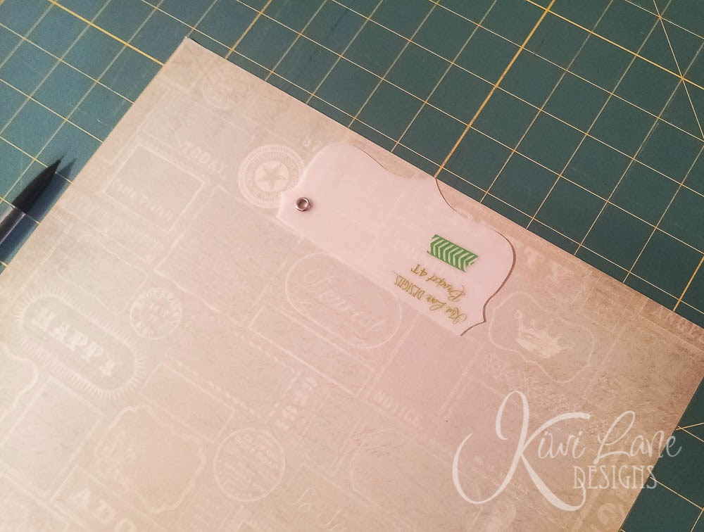 Bracket mat with Kiwi Lane templates -- www.MightyCrafty.me