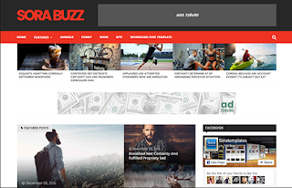 Sora-Buzz-template-blogger