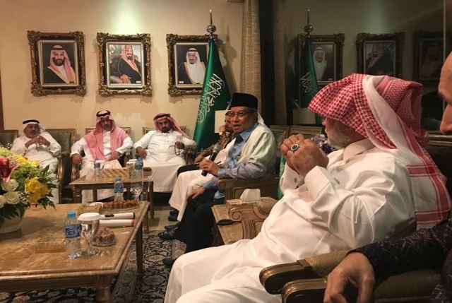 Pertemuan Kedubes Arab Saudi dengan Pengurus Besar Nahdlatul Ulama