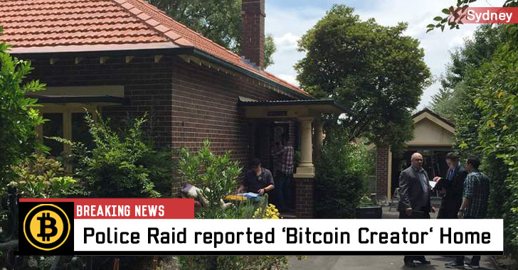 Police Raid alleged Bitcoin Creator Craig Wright's Home in Sydney