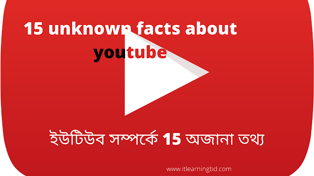 15 unknown facts about youtube