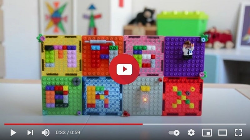 magbrix magnetic tiles video