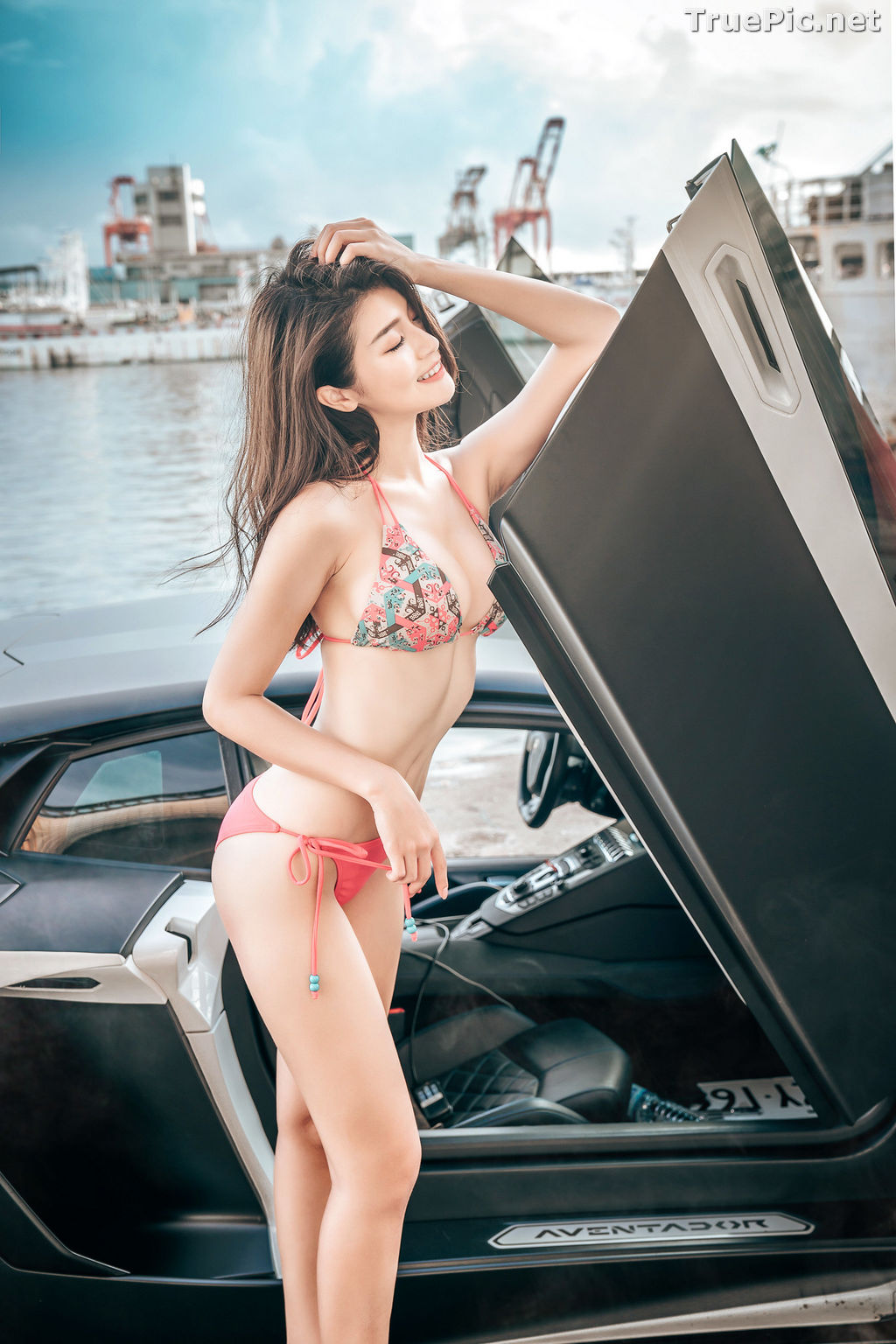 Image Taiwanese Model - 珈伊Femi - Sexy Beautiful Girl and Supercars - TruePic.net - Picture-1