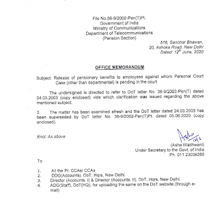 release-of-pensionary-benefits-to-employees-dot-order-12-06-2020