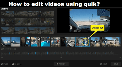 Quik Video editor for PC