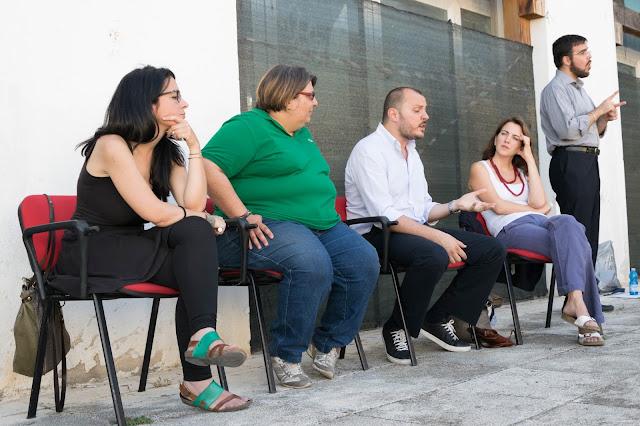 Ester Russo, Daniela Tomasino, Claudio Cappotto, Stefania Campisi