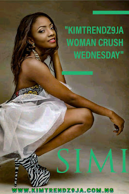 Our Woman Crush Wednesday Goes To Non Other Than The Beautiful, Gorgeous And Awesome Mrs Simisola Ogunleye Otherwise Known As Simi, The Music Songstress Was Born In Ojuelegba Surulere, Lagos, April 19 1988.
