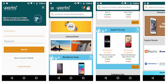 Download Yaantra- Online Shopping for Refurbished Phones Mobile App