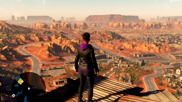 Check out what the desert world of the new Saints Row looks like