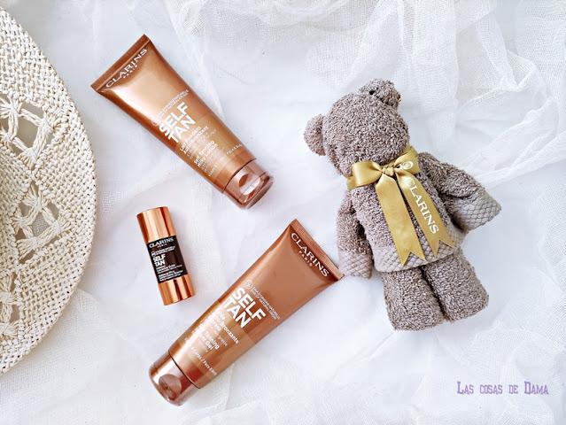 Nuevos Tratamientos Autobronceadores Self Tan Clarins bronceado verano beauty belleza