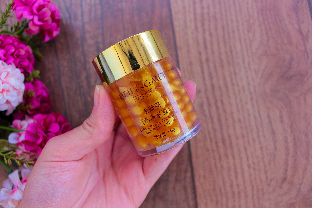 Beilingmei Golden Anti-Aging Dark Circle Eye Cream