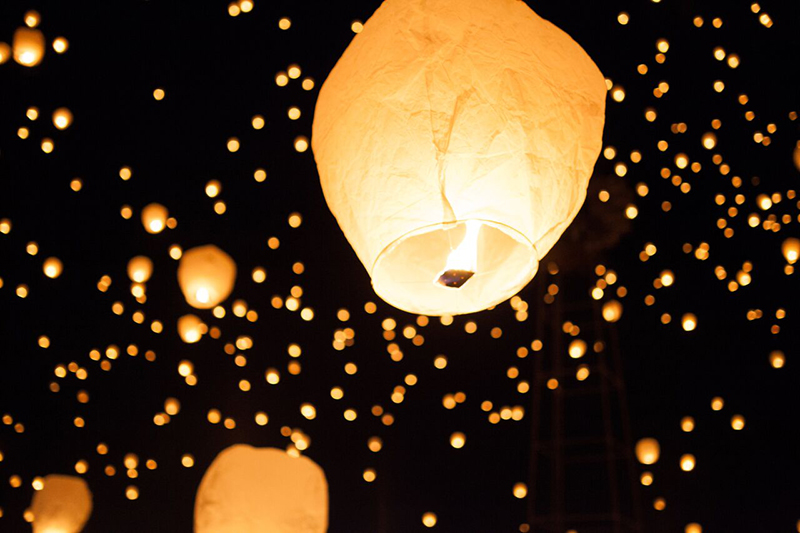 lantern, lantern in the sky, lanterns in utah