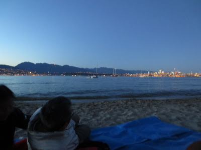 Jericho Beach at dusk Vancouver, BC