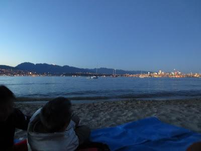 Jericho Beach at dusk Vancouver, BC