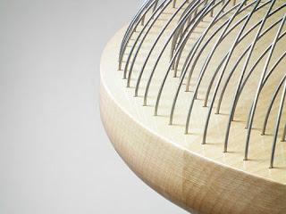 Banquillo de madera