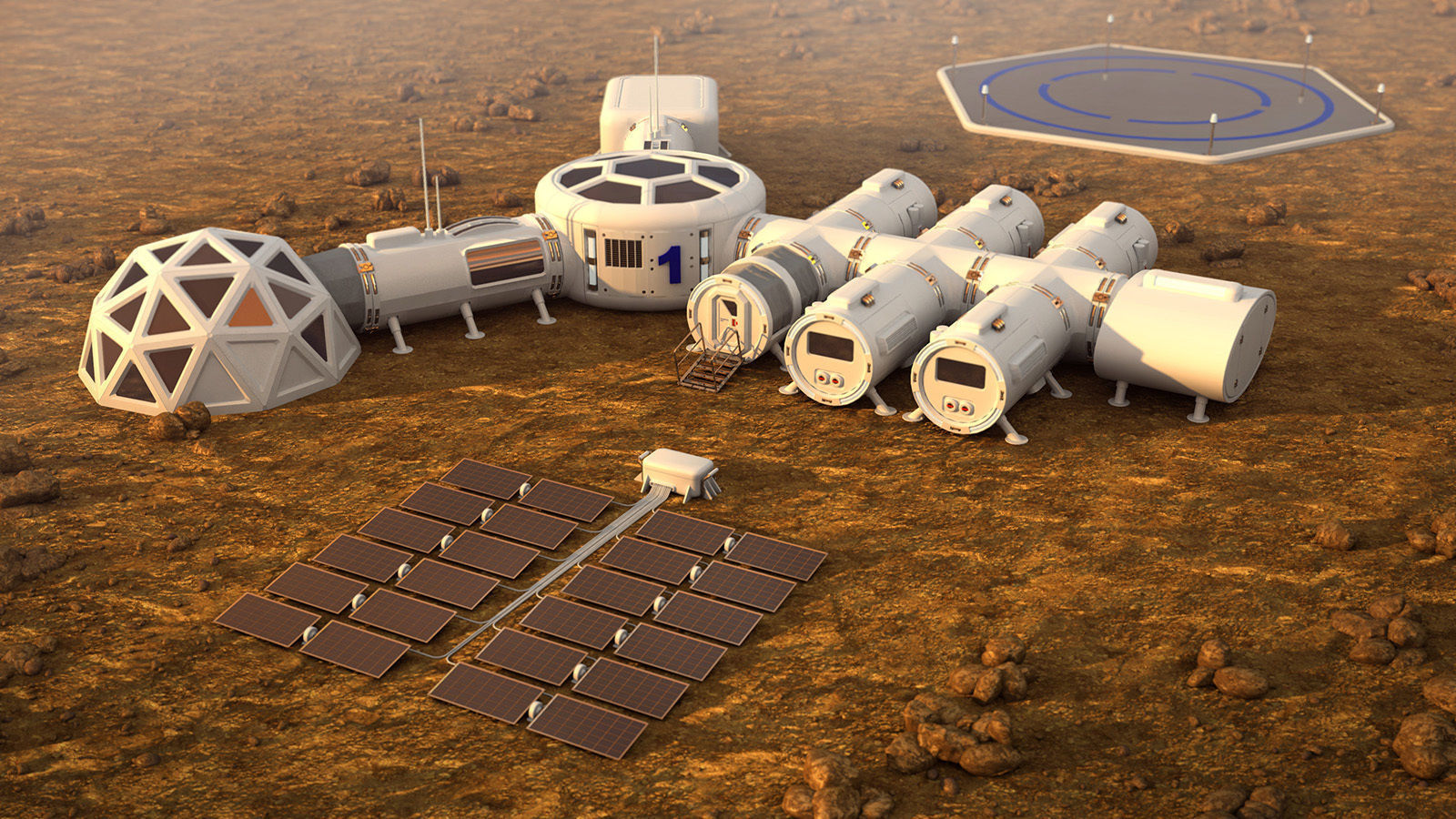 Kites On Mars To Harness Energy For Human Colonies