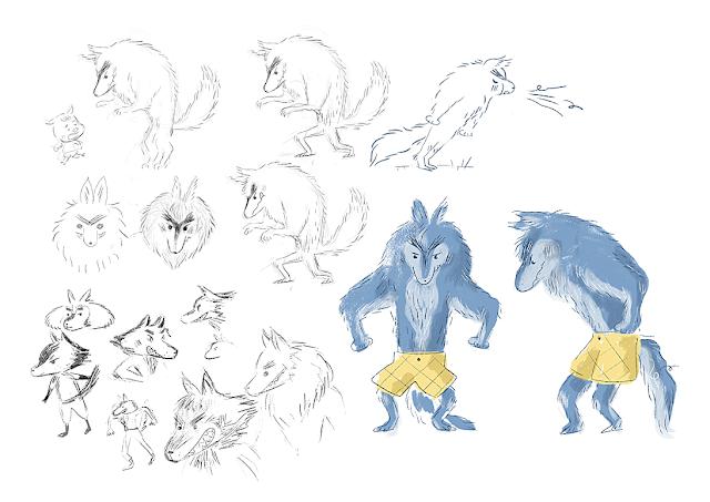 loup, lobo, casterman, laura gomez