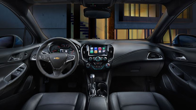 2017 chevrolet cruze hatchback Interior