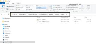 pmp tidak bisa dibuka jaringan edit file js