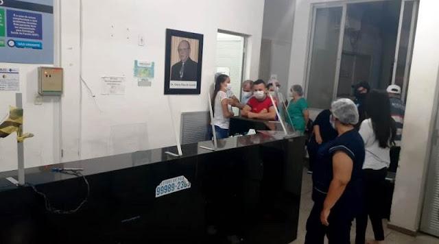 Em Patos, homem é detido pela Guarda Municipal após quebrar objetos da UPA com socos e pontapés