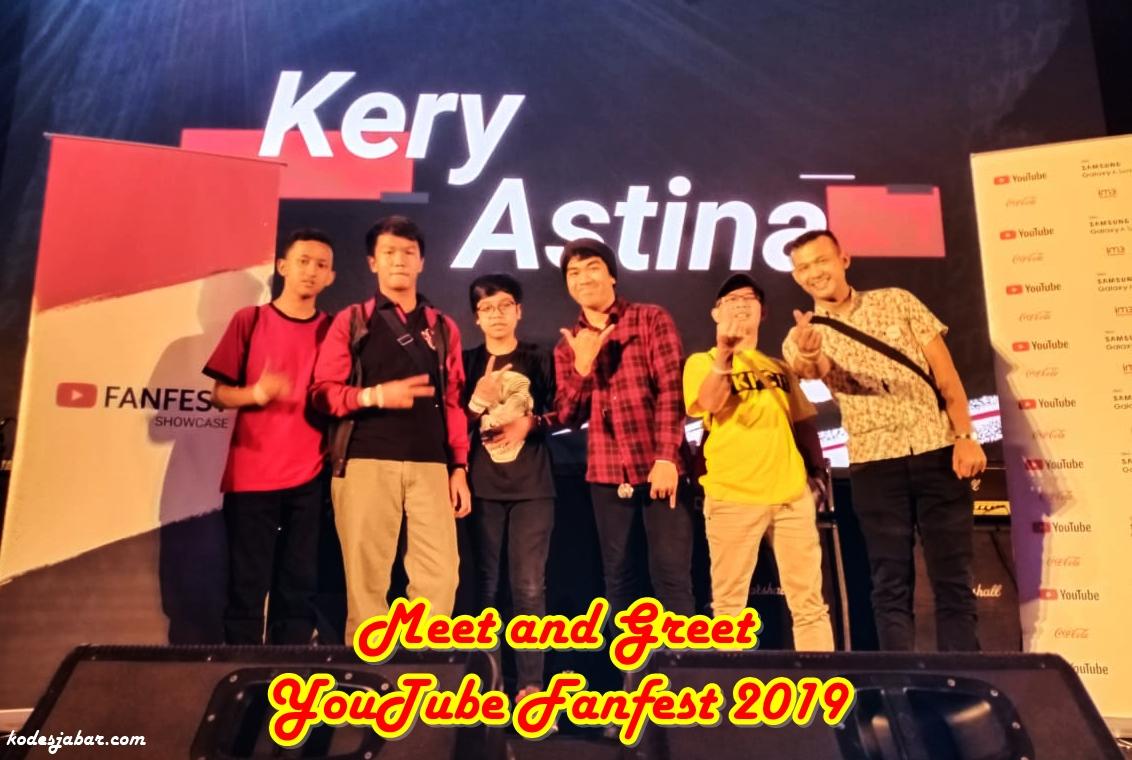 Meet and Greet dengan Kery Astina