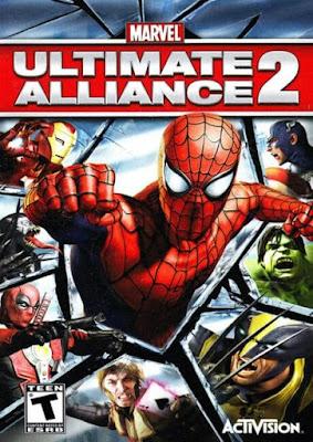 Capa do Marvel Ultimate Alliance