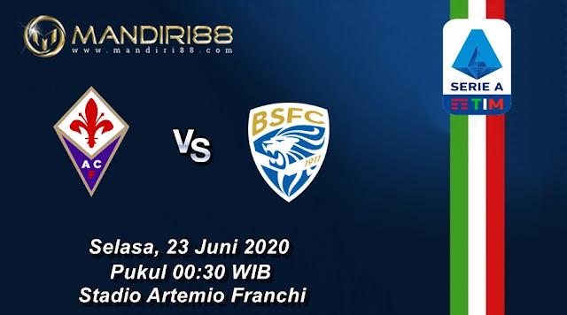 Prediksi Fiorentina Vs Brescia, Selasa 23 Juni 2020 Pukul 00.30 WIB