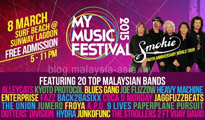 My Music Festival 2015 Malaysia
