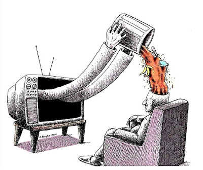 Meme sobre la televisión