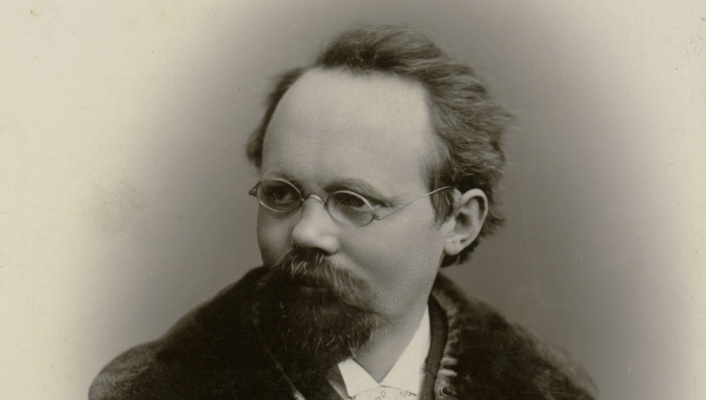 IN REVIEW: Composer Engelbert Humperdinck (1854 - 1921) [Photograph from the collection of Stadtarchiv Siegburg]