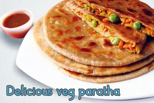 How to make delicious veg paratha recipe at home