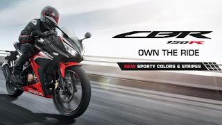 Warna Baru Honda CBR150R Tahun 2020
