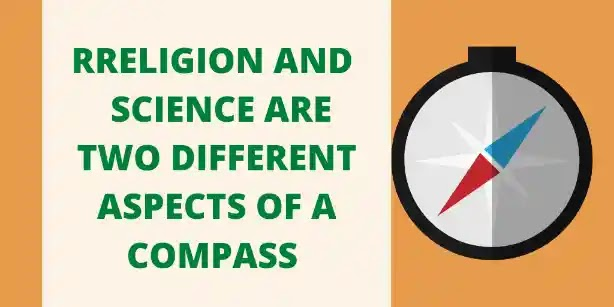 There is no difference between Religion & Science :-