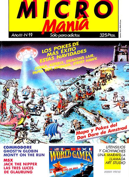 Revista Micromanía Número 19