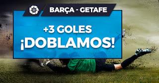 Paston promocion Barcelona vs Getafe 16 febrero 2020