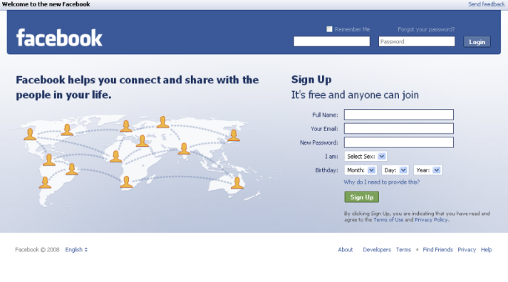 Facebook Login Home Page English P - ArkanPost