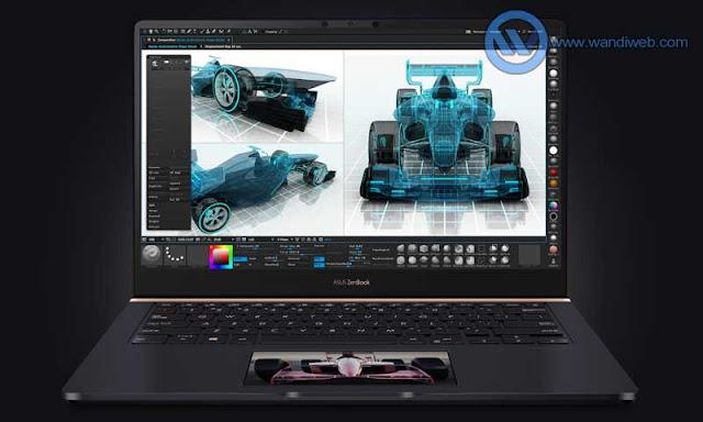 Asus ZenBook Pro 14 UX480, Laptop untuk Desainer Grafis dan Video Editor - WandiWeb