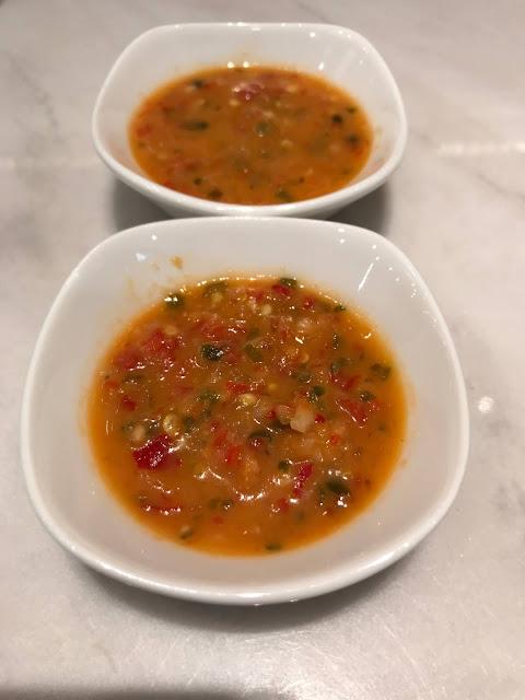 Putien, chilli sauce