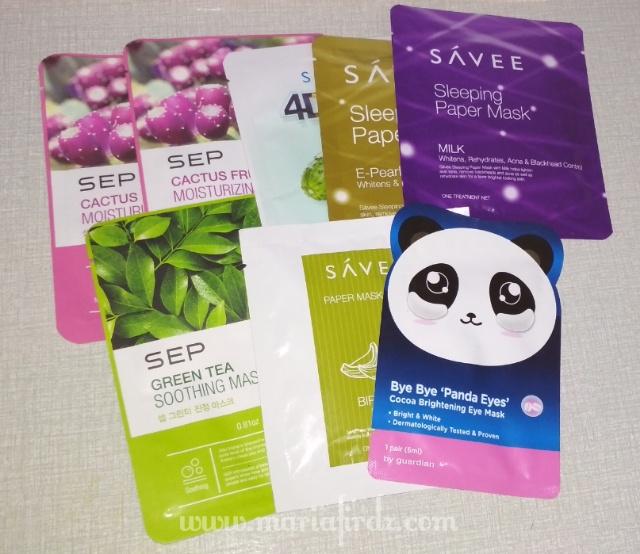 10 Keping Mask Muka Free Hasil Menang Giveaway