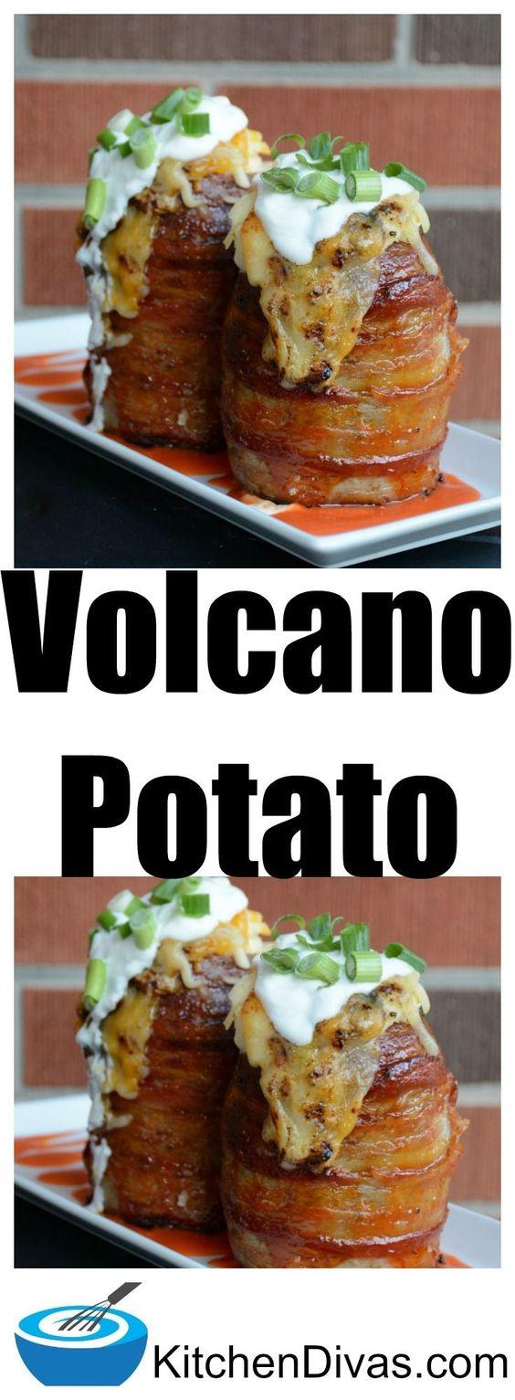 The Ultimate Volcano Potato