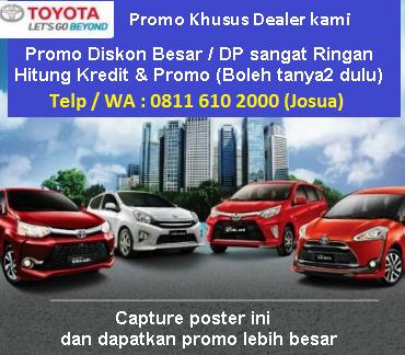 Harga Mobil Toyota Calya Medan Promo Kredit Dp Murah Dealer