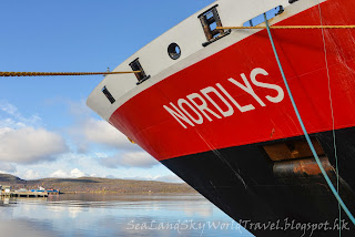 挪威 norway Hurtigruten 郵輪 Nordlys