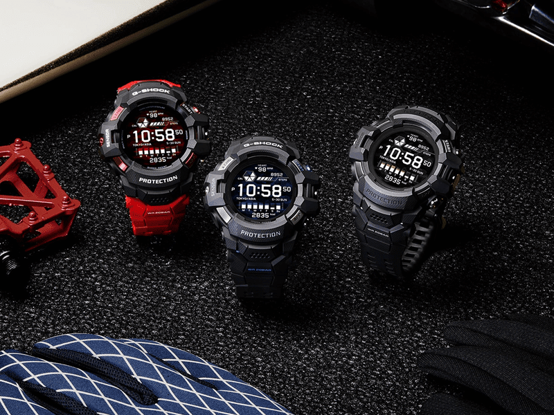 Casio G-Squad Pro GSW-H1000 is a G-Shock with WearOS and color display