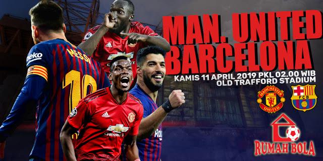 Prediksi Manchester United vs Barcelona Liga Champions