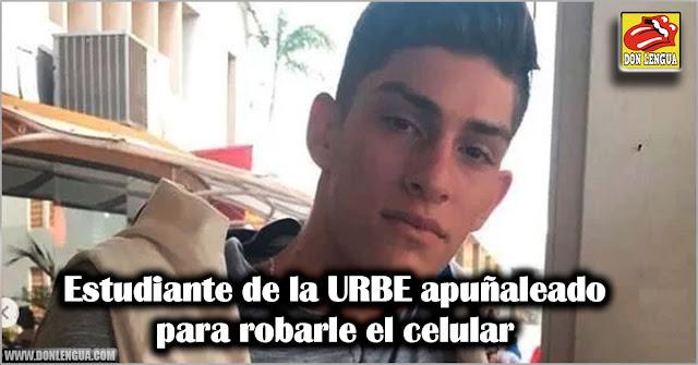 Estudiante de la URBE apuñaleado para robarle el celular